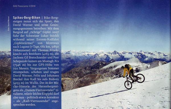 DAV Panorama 1/2010, S. 26
