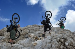 immer weiter gen Gipfel führt der Steig