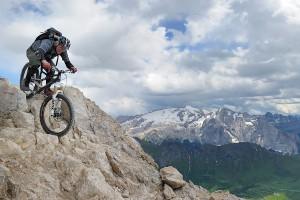 Steile Felsen und tolle Aussicht
